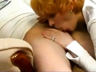mom and son having calming sex
