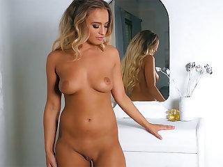 Dark Hair epigrammatic titties mature solo dancing plus striptease