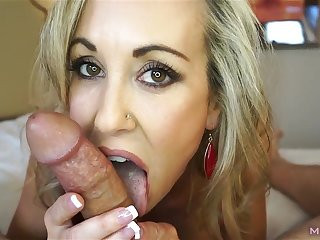 Insanely naughty mother I´d like to fuck treats your unearth to a sexually dear swell up (Brandi Love)