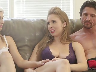 Ardent nympho Kristen Scott and some more kinky porn starts by way of interview