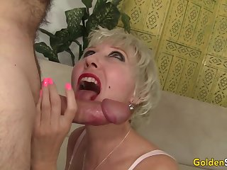 Amazing Grandma Dalny Marga Gets Fucked Deep down by an Old Man