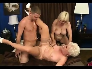 MMV FILMS Young and Superannuated adult trio