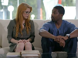 Ginger milf with perfectly shaped body Penny Pax goes blacklist for the first time