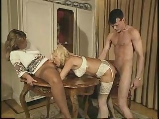 Familie Immerscharf (Teil 5) retro vintage threesome with anal sex