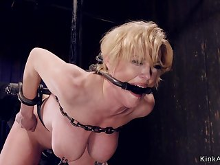 Pledged huge breasts Mother I´d Allied to To Fuck in device bondage