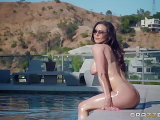 Bombshell MILF Kendra Lust gets cum beyond tits find out a hardcore fuck