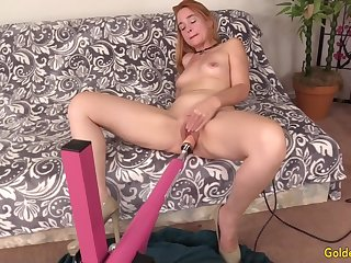 Matured Sable Renae Orgasmic Machine Sex