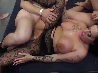 Wild Orgy Fro Busty Milf Ashley Cum Star