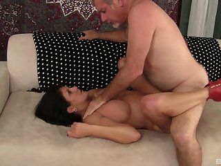 Bodily mature loves dick more than anything