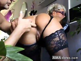mature ass licking